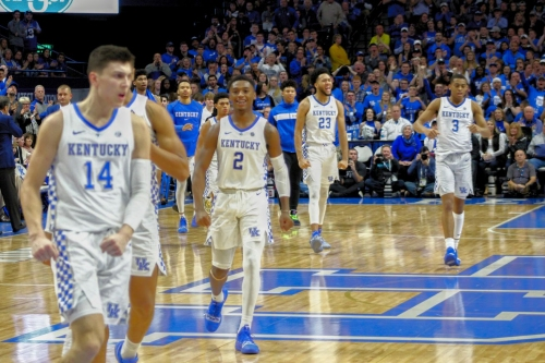 Where UK stands in new college hoops top 25 polls, NET & power rankings