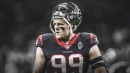 Texans' J.J. Watt contemplates which Watt jersey to wear for Chargers vs. Steelers game