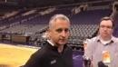 Phoenix Suns head coach Igor Kokoskov talks about center Deandre Ayton playing Sacramento Kings forward Marvin Bagley III