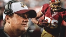 Redskins head coach Jay Gruden told Jordan Reed he was the emergency QB, but no plays were installed