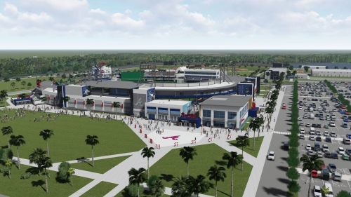 Name unveiled for Braves' new spring training stadium
