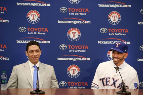 Rangers finalize 2019 coaching staff and announce dates for first spring training workouts