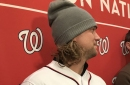 Trevor Rosenthal talks joining Washington Nationals; gets excited about Patrick Corbin signing...