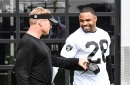Raiders-Steelers injury report: Doug Martin practices with knee injury