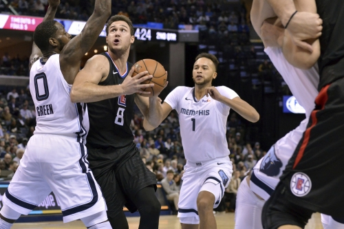 Grizzlies get stingy with Clippers, hold them to season-low point total