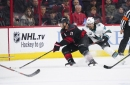 Hurricanes 1, Sharks 5: Jumbo's 3 helpers push Sharks past Canes