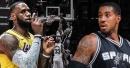 Video: Lakers' LeBron James posterizes Spurs' LaMarcus Aldridge