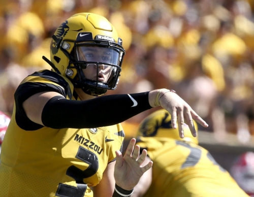 Will Drew Lock join Emanuel Hall in the Senior Bowl?