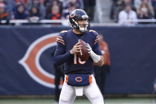 Trubisky is back to face Donald, Rams