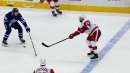 Mike Green floats point shot past helpless Garret Sparks