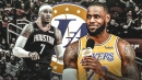 Lakers news: LeBron James interested in having Rockets' Carmelo Anthony join L.A.