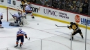 Sidney Crosby rips one top-corner past Christopher Gibson