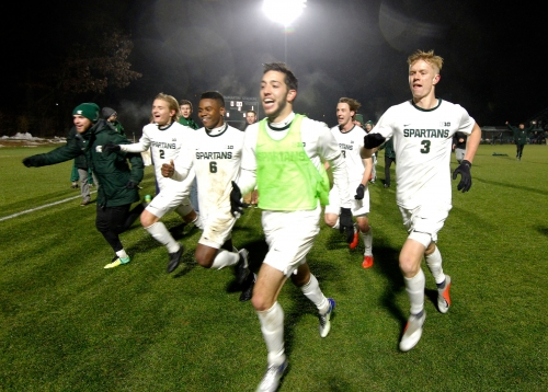 Couch: Michigan State's College Cup-bound soccer program built with in-state kids