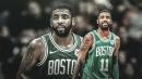 Celtics' Kyrie Irving not concerned about shoulder injury