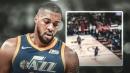 Video: Jazz big man Derrick Favors has the worst inbounds of the season