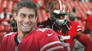 49ers cornerback Richard Sherman loves Jimmy Garoppolo, just wants him to stay healthy