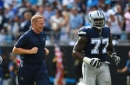 Jason Garrett says Tyron Smith decision will go right up to game time again