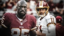 Redskins' Vernon Davis says Alex Smith is 'most resilient man I've ever met'