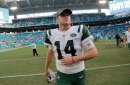 Sam Darnold, Josh Allen prepare for possibly first of many meetings in Jets vs. Bills