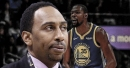 Stephen A. Smith says Clippers have legitimate shot at Warriors' Kevin Durant in free agency