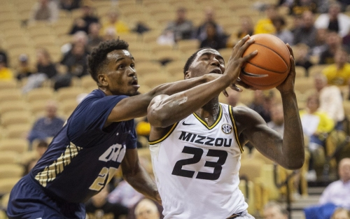 Mizzou's balanced attack too much for Oral Roberts