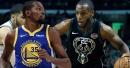 Warriors' Kevin Durant is a big fan of Bucks' Khris Middleton