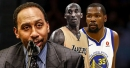 NBA news: Stephen A. Smith removes Kobe Bryant from Allen Iverson's All-Time starting lineup for Kevin Durant
