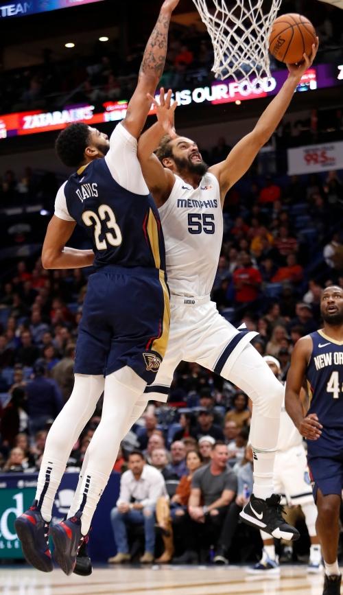 Game Recap: Memphis Grizzlies 107, New Orleans Pelicans 103