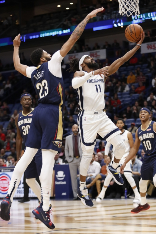 Pelicans blow late lead to Grizzlies as bench contributes nothing