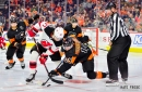 Sean Couturier Out Against Buffalo For Philadelphia Flyers