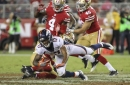 The 49ers will win/lose against the Broncos if...