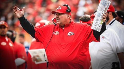 Chiefs head coach Andy Reid has nothing but praise for Lamar Jackson