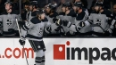 Kings tie season high in goals with victory over Vegas