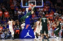 Michigan State's Kyle Ahrens' game-winning dunk unleashes emotions