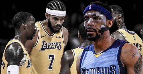 Grizzlies' Mike Conley starts vs. Lakers despite injuring finger