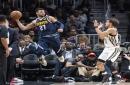 Short-handed Nuggets dealt second straight loss in Atlanta