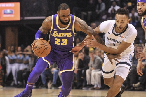 Grizzlies fall to Lakers