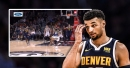 Nuggets video: Jamal Murray hurts foot after seemingly dirty play by Justin Anderson