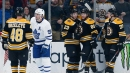 Maple Leafs struggle again to provide 60-minute effort against Bruins