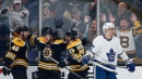 Krejci moves up Bruins' scoring list in win over Maple Leafs