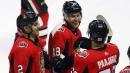 Dzingel scores in overtime as Senators edge Penguins