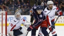 Ovechkin scores 22nd in season, Capitals shut out Blue Jackets
