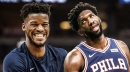 Brett Brown won't say the Jimmy Butler trade is hurting Joel Embiid