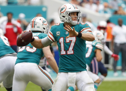 WATCH: Miami Dolphins' last-minute game-winning miracle touchdown against the Patriots