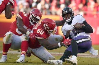 Butker's OT field goal lifts Chiefs past Ravens, 27-24