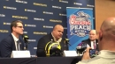Michigan football coach Jim Harbaugh, AD Warde Manuel shoot down NFL rumors