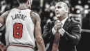 Jim Boylen disputes report that players held a players-only meeting