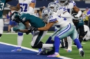 WATCH: Not in our house! Cowboys interrupt Eagles' TD celebration