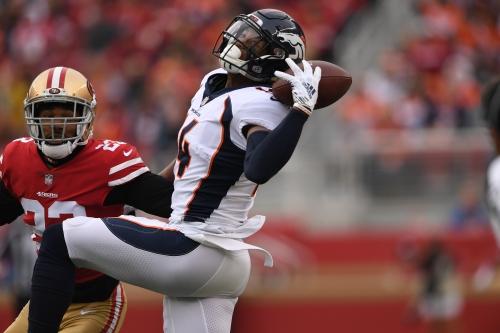 Broncos' playoff hopes crippled with Week 14 loss at San Francisco
