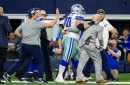 Update: Jerry Jones says Cowboys see no structural damage to Zack Martin's left knee, but he'll undergo MRI